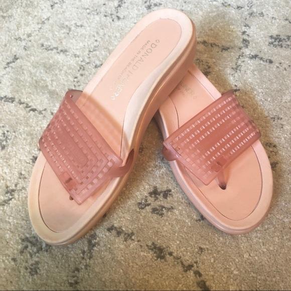 Donald J. Pliner Shoes - Donald J Pliner Pink Slides